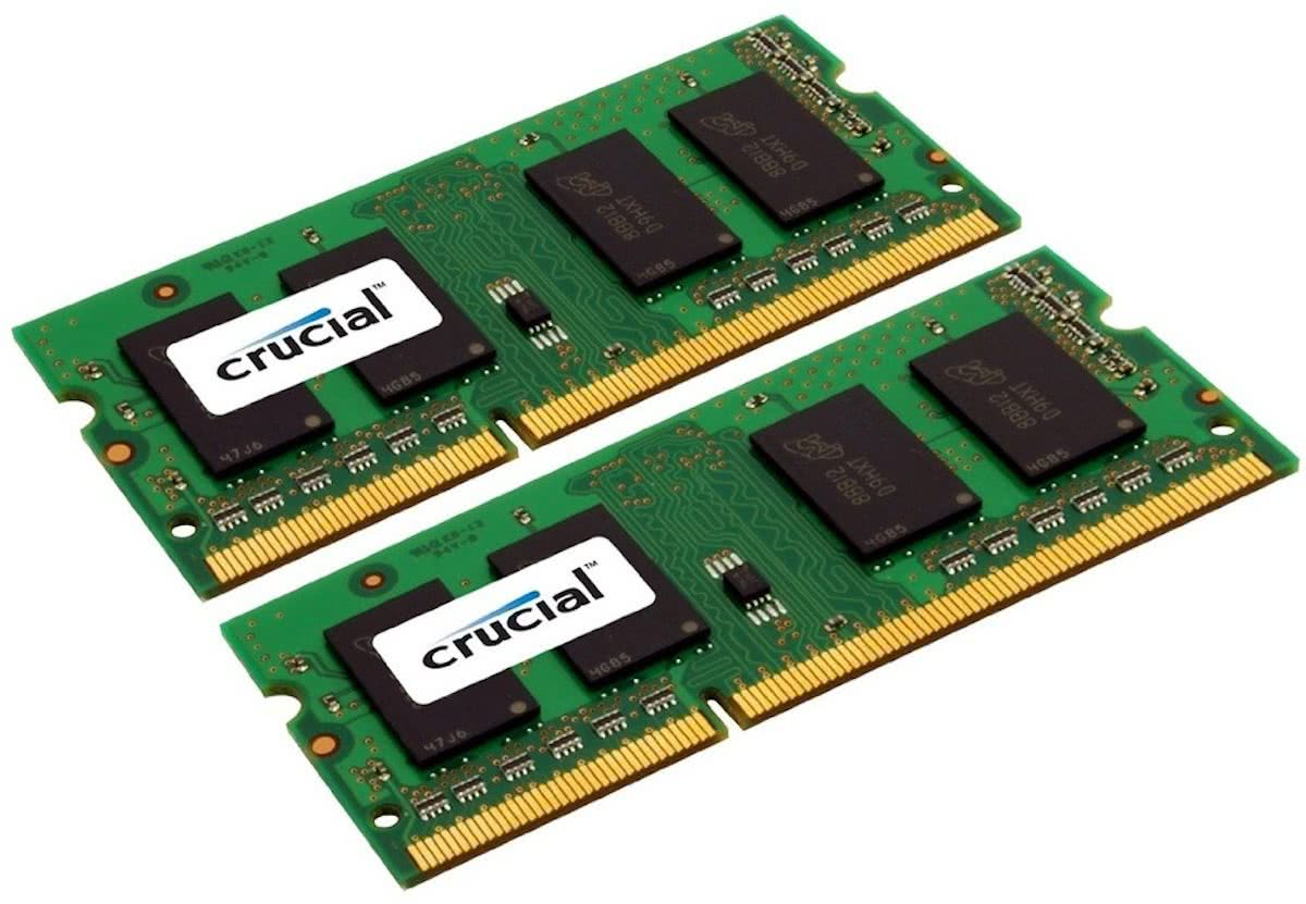 CT2KIT51264BF160BJ 8GB DDR3L SODIMM 1600MHz (2 x 4 GB)