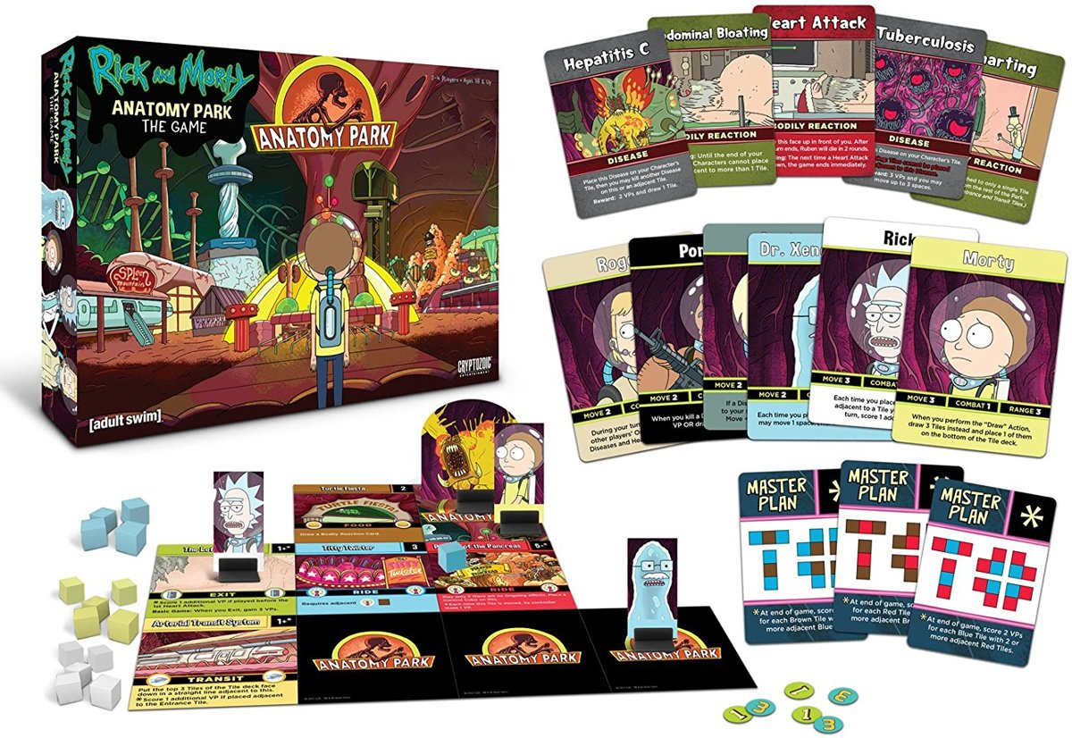 Rick and Morty Anatomy Park The Game
