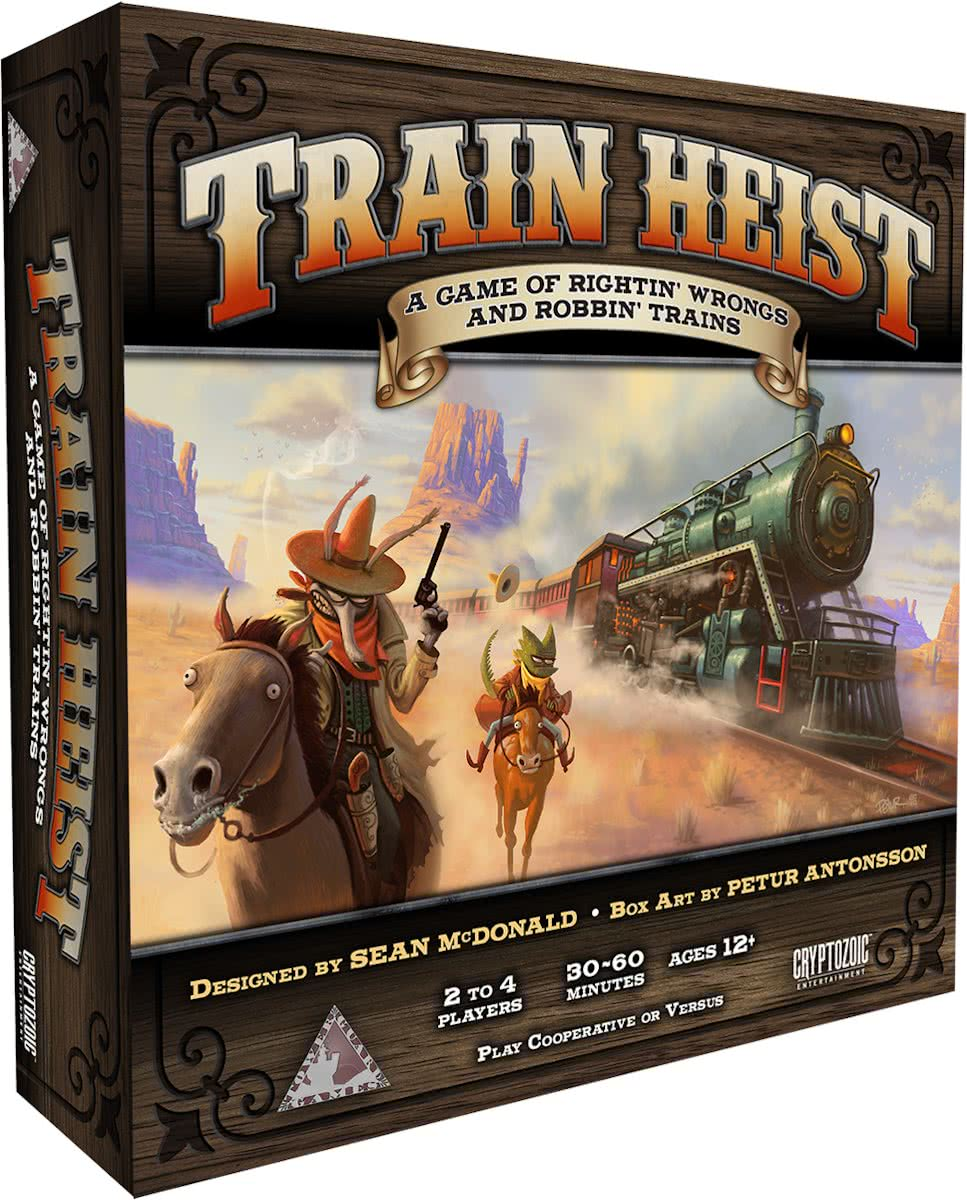 Train Heist: A Game Of Rightin Wrongs and Robbin Trains