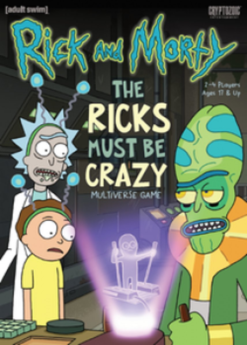 Rick and Morty Those Ricks Must Be Crazy