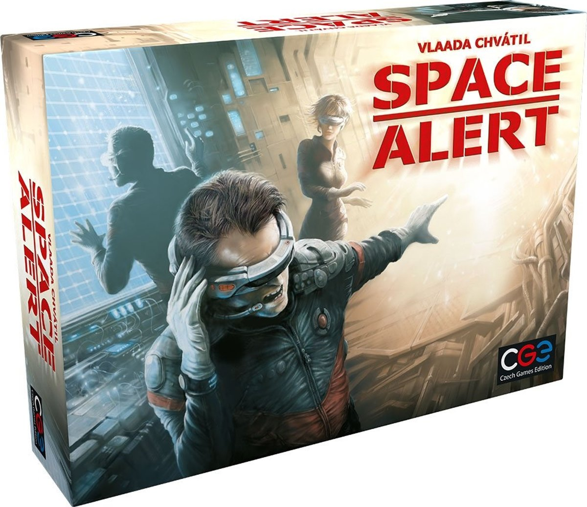 Czech Games Edition Gezelschapsspel Space Alert (en)