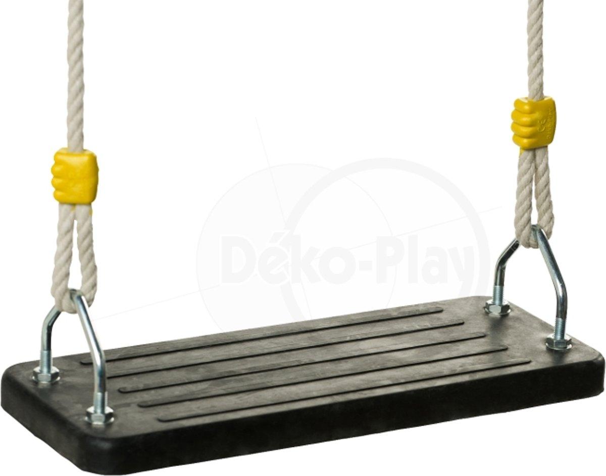 Nestschommel Met Kussen : D ko play nestschommel rood zwart met extra lange touwen en