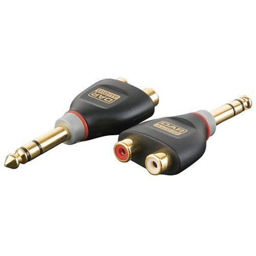 DAP Audio DAP Xcaliber Jack male stereo - 2 RCA (tulp) mono (L+R) adapter Home entertainment - Accessoires