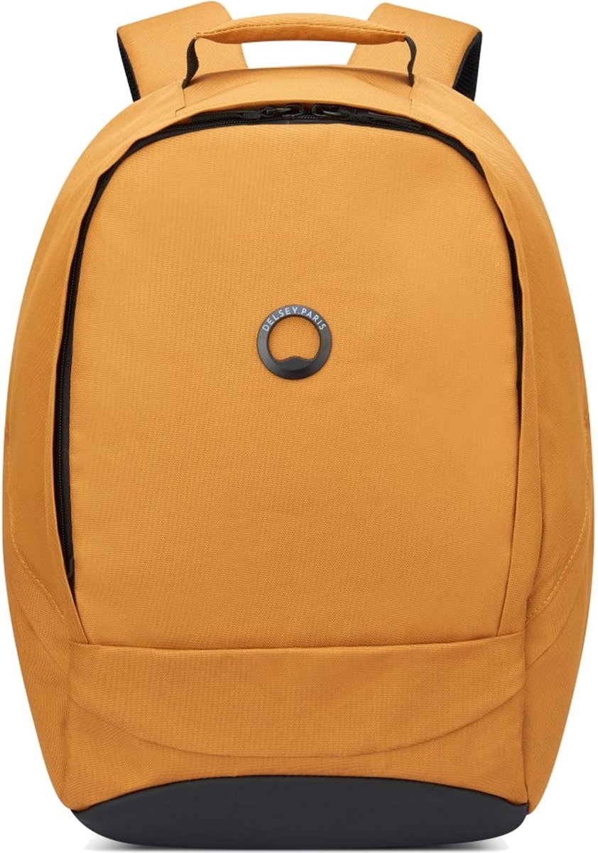 Delsey Securban Laptop Backpack - Anti Diefstal - 1 Compartment - 13,3 inch - Yellow