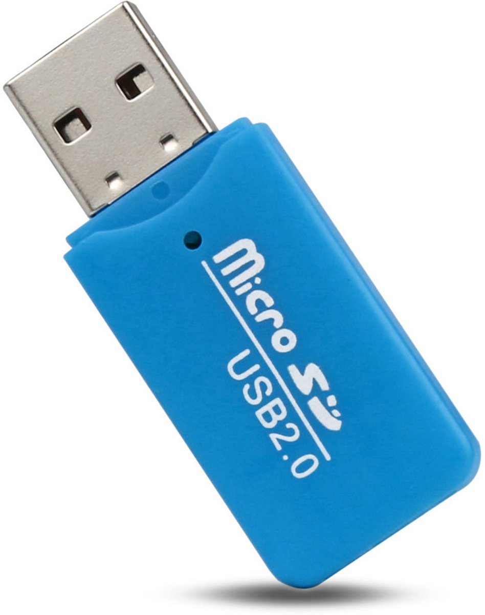 - DT34 - Micro SD kaartlezer - USB stick cardreader
