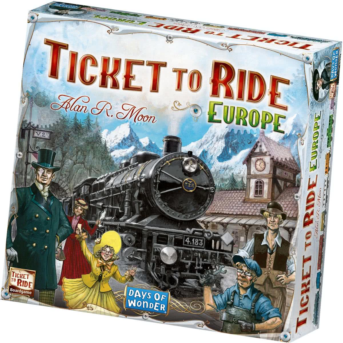 Ticket To Ride Europe - Bordspel - Engelstalig