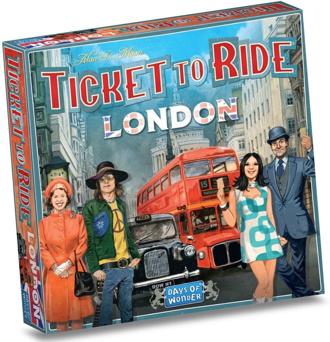 Ticket to Ride London (English)