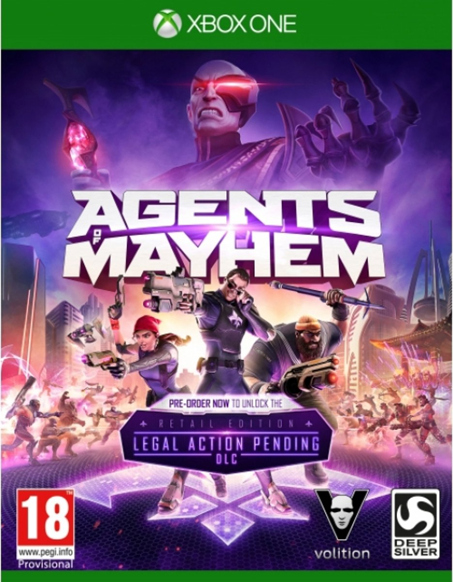 Agents of Mayhem /Xbox One