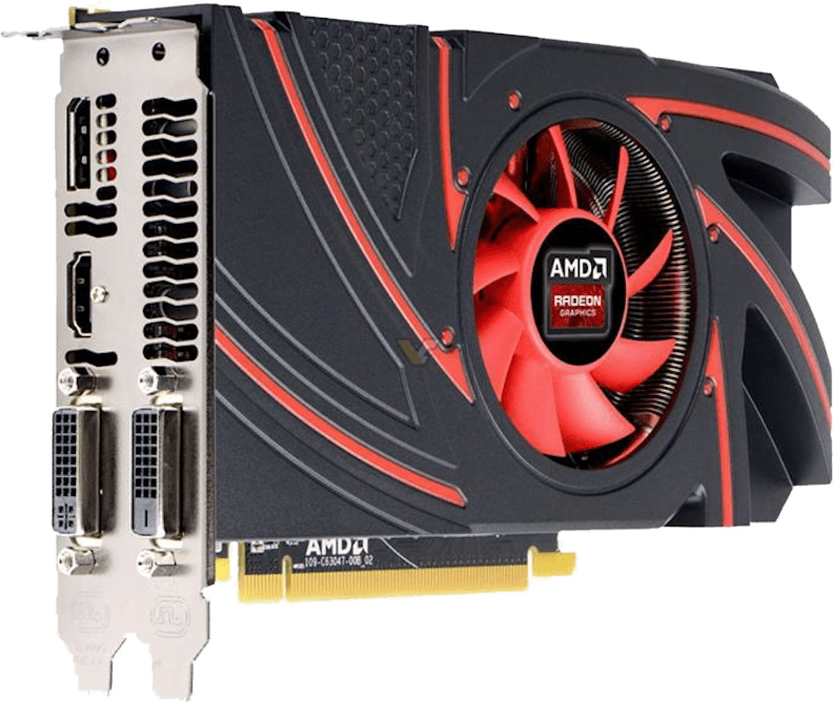 AMD Radeon R9 270 PCI-Express 3.0 x16 Full-Height (2GB GDDR5, 256-bit, DP+HDMI+2x DVI, DirectX 12)