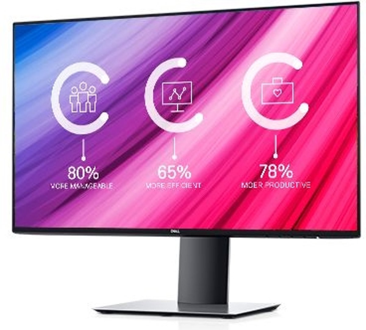 DELL UltraSharp U2419HC computer monitor 60,5 cm (23.8) Full HD LED Flat Mat Zilver