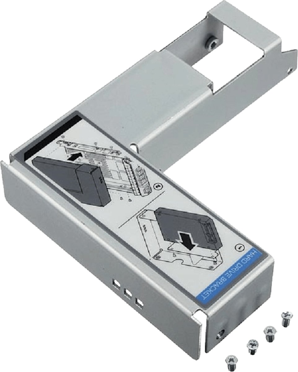 Dell 9W8C4 Verloopbracket om 2.5