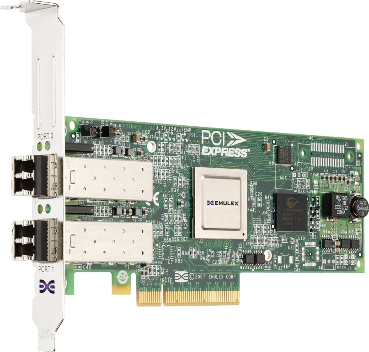 Emulex LPE12002 Dual Channel 8Gb PCIe Host Bus Adapter