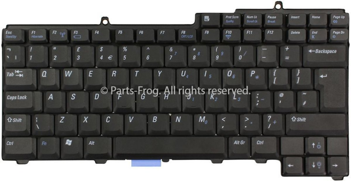 H5627 UK QWERTY Laptop Toetsenbord (Origineel)