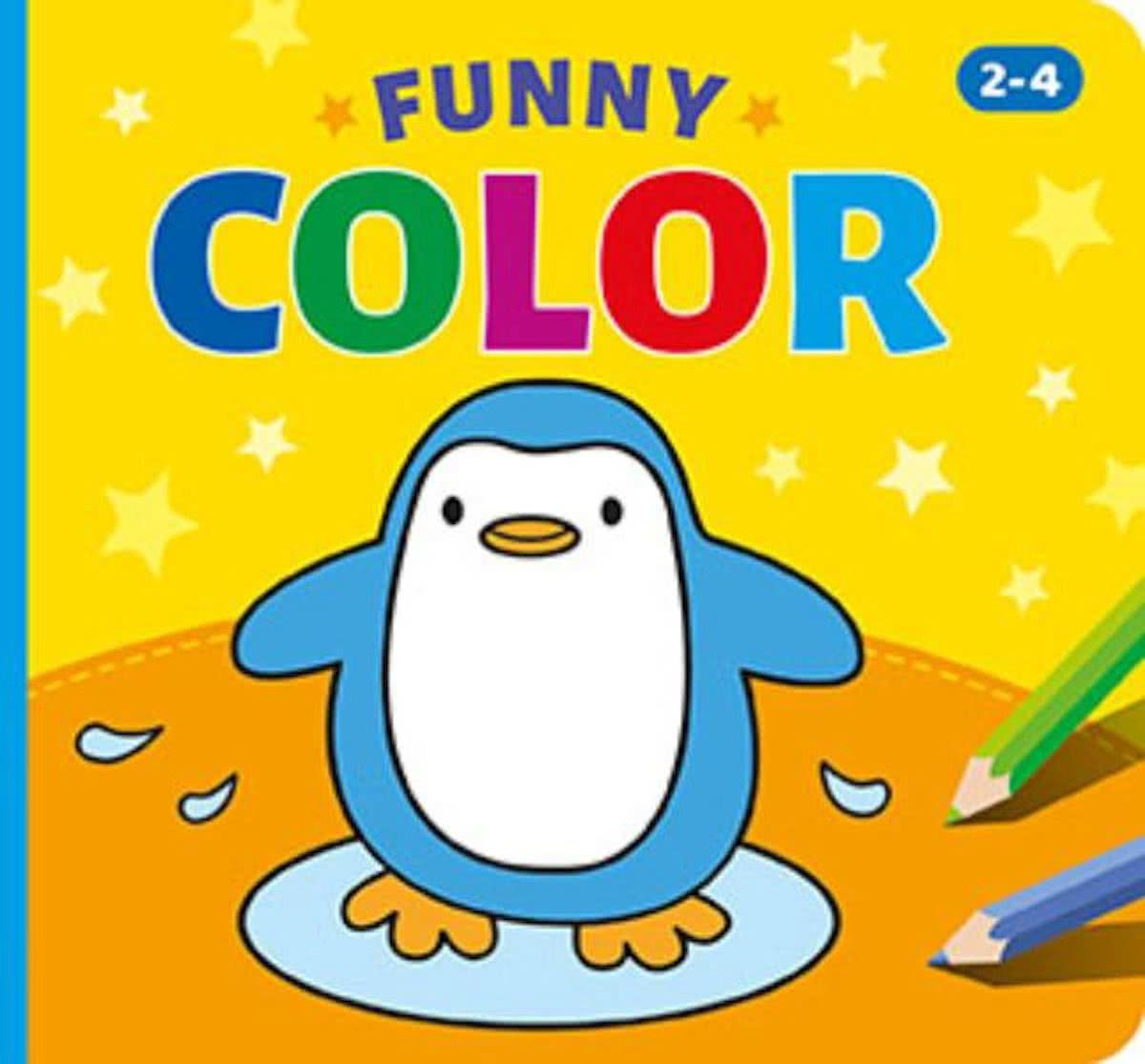 Funny color (2-4 j.) / funny color (2-4 a.)