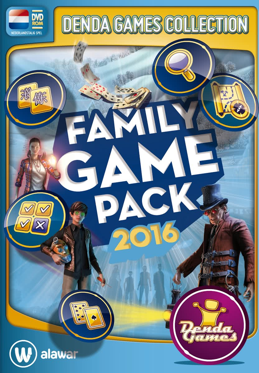 Family Game Pack - Winter Editie 2016 - Windows