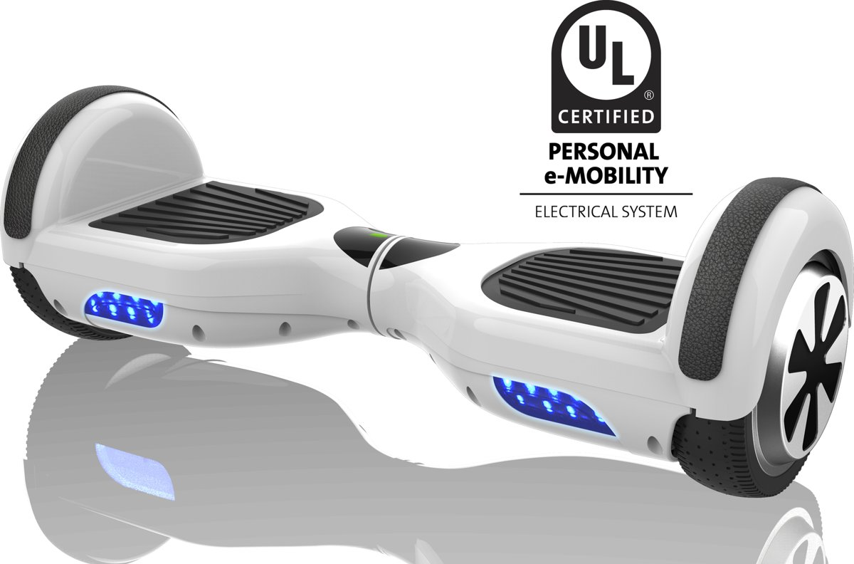 Denver HBO-6610 White - hoverboard met 6,5