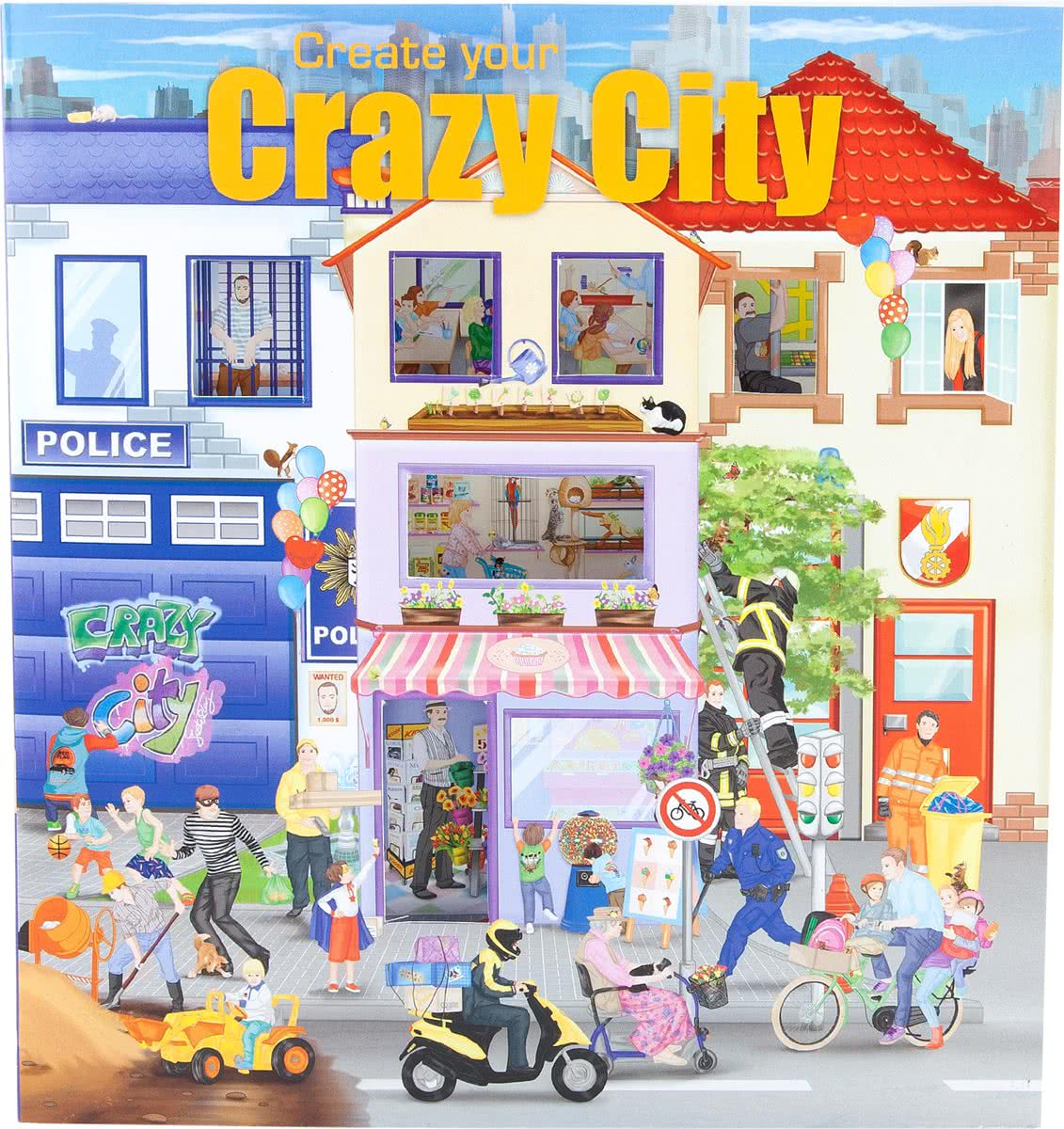 Create Your Crazy City
