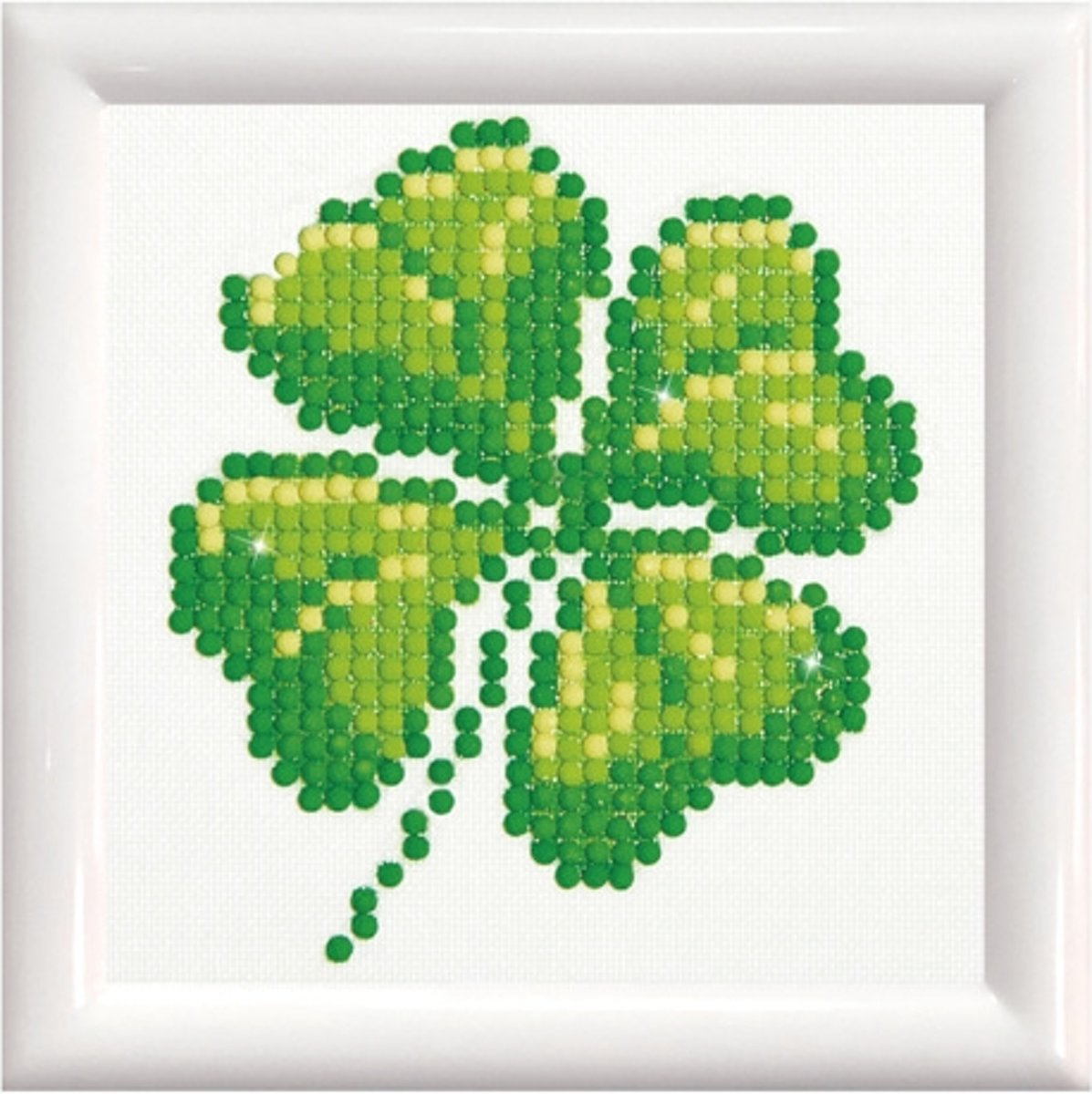 DD1.017F Diamond Dotz® - Four LeaF Diamond Dotz® - Clover DD Kit with Frame