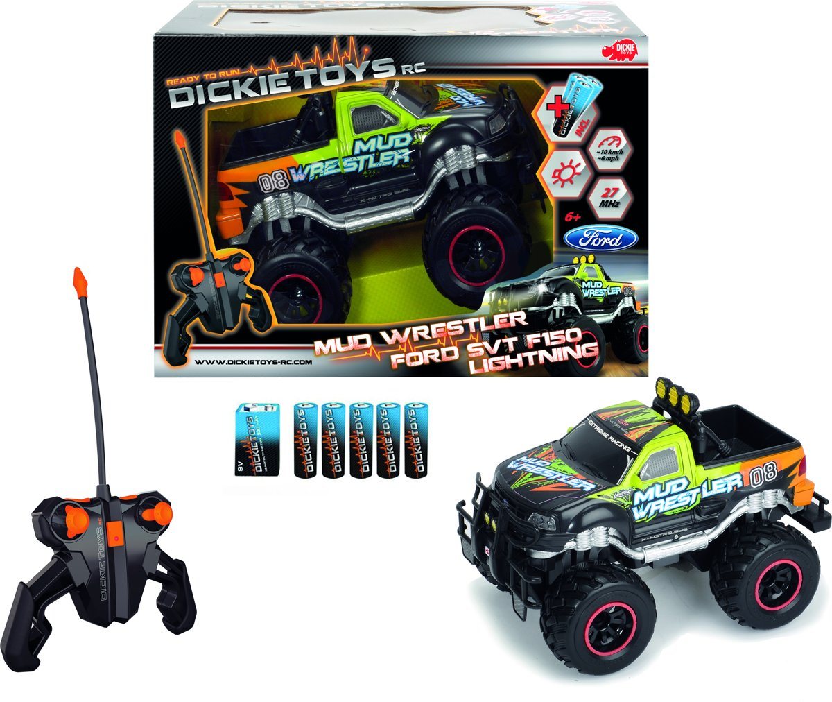 RC - FORD MUD WRESTLER (30CM,RTR,BO)