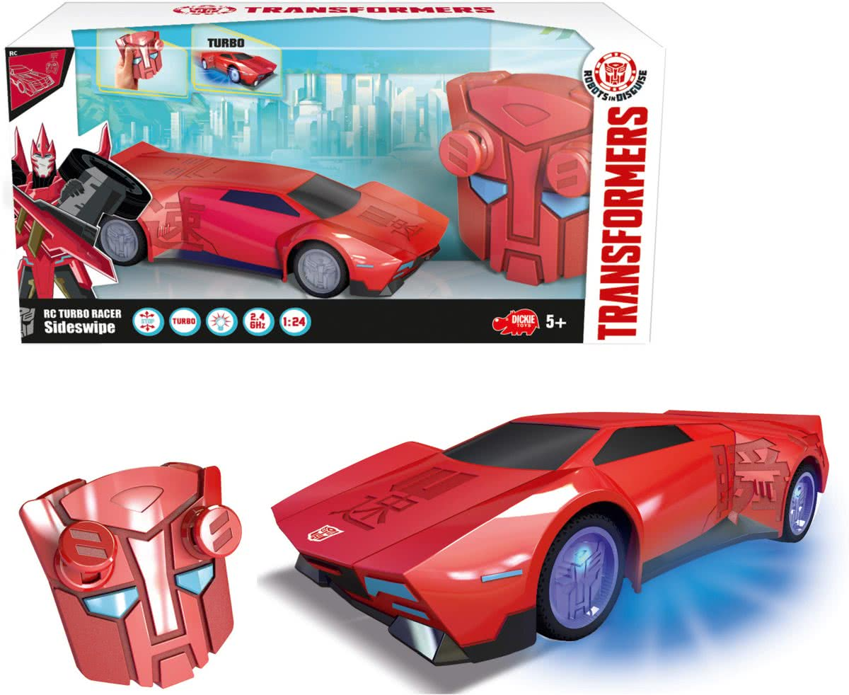 TRANSFORMERS - RC TURBO RACER SIDESW(BO)