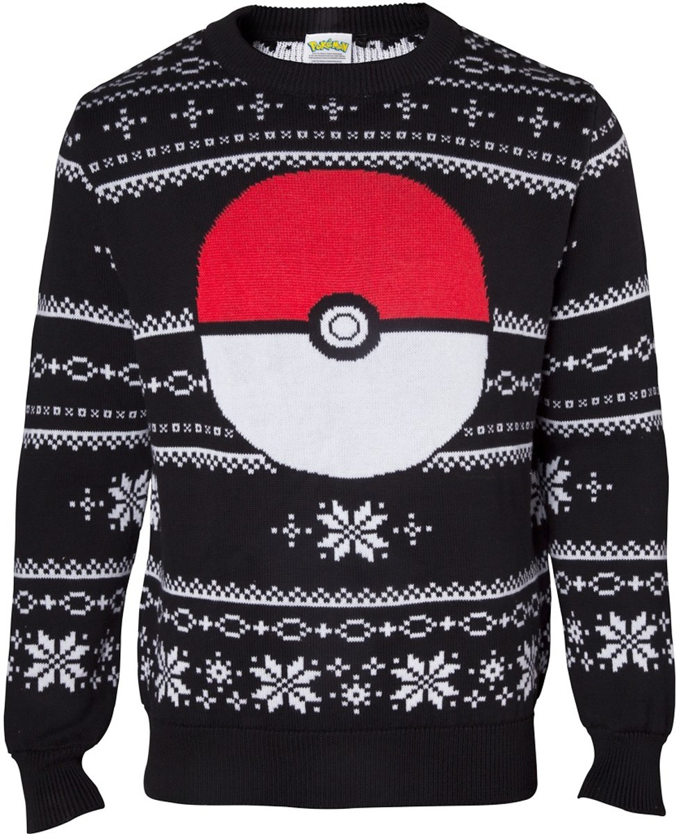 Pokémon - Christmas Sweater Pokeball