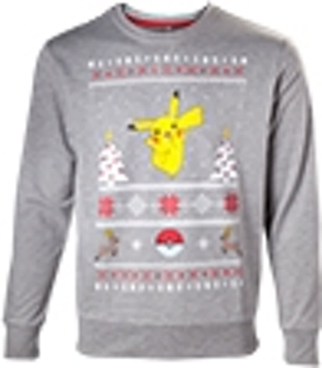 Pokemon - Pikachu Christmas Sweater - L