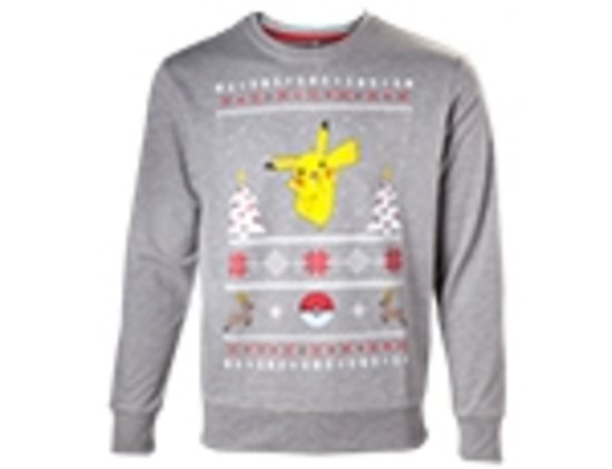 Pokemon - Pikachu Christmas Sweater - S