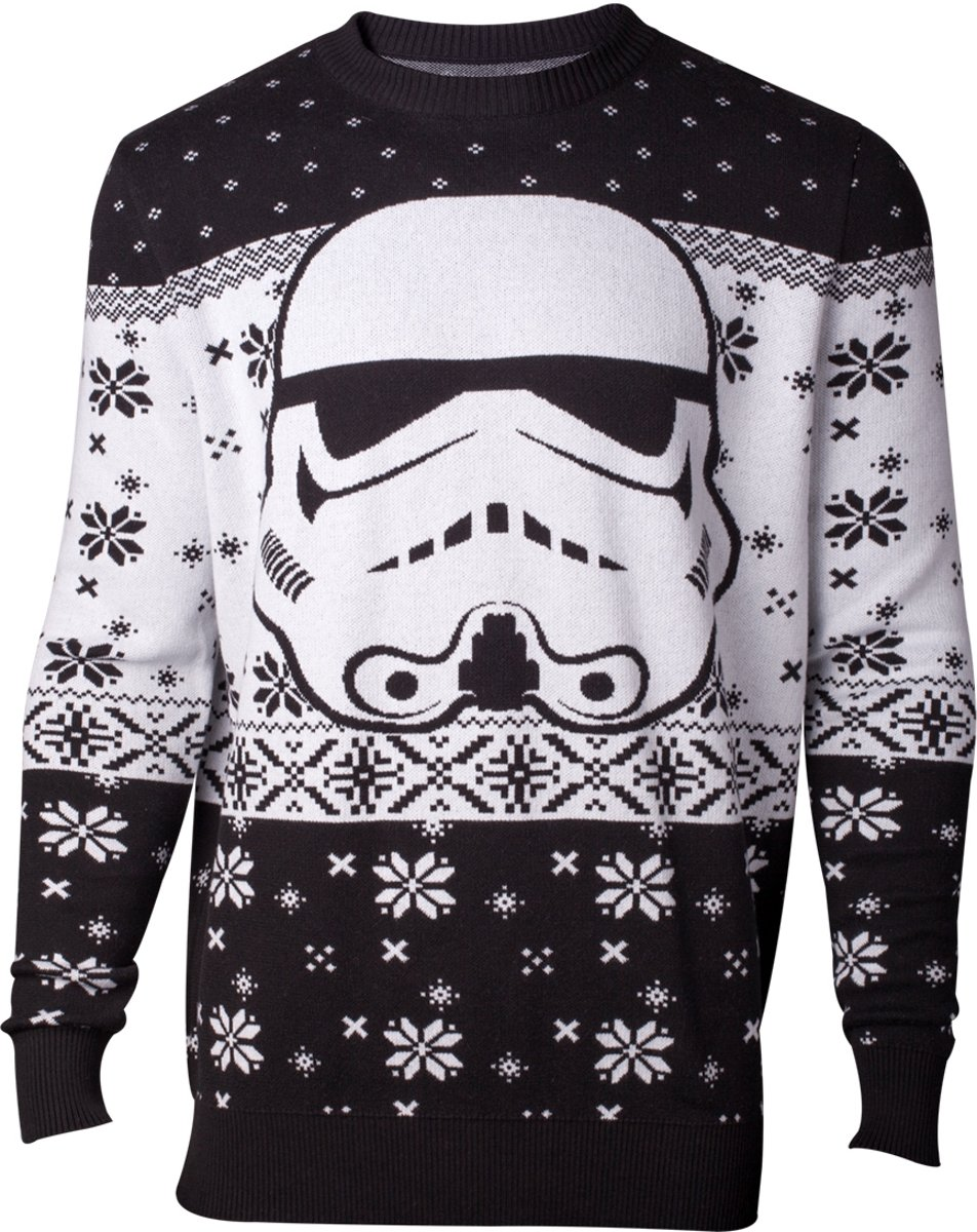 Star Wars Kersttrui - Stormtrooper - Difuzed - Maat S - Wit