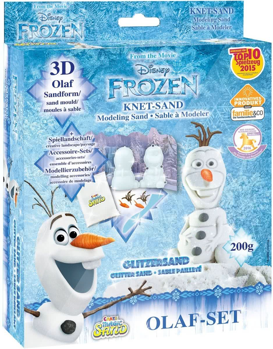 Magic Sand - Olaf - Set - Frozen - 200 g zand
