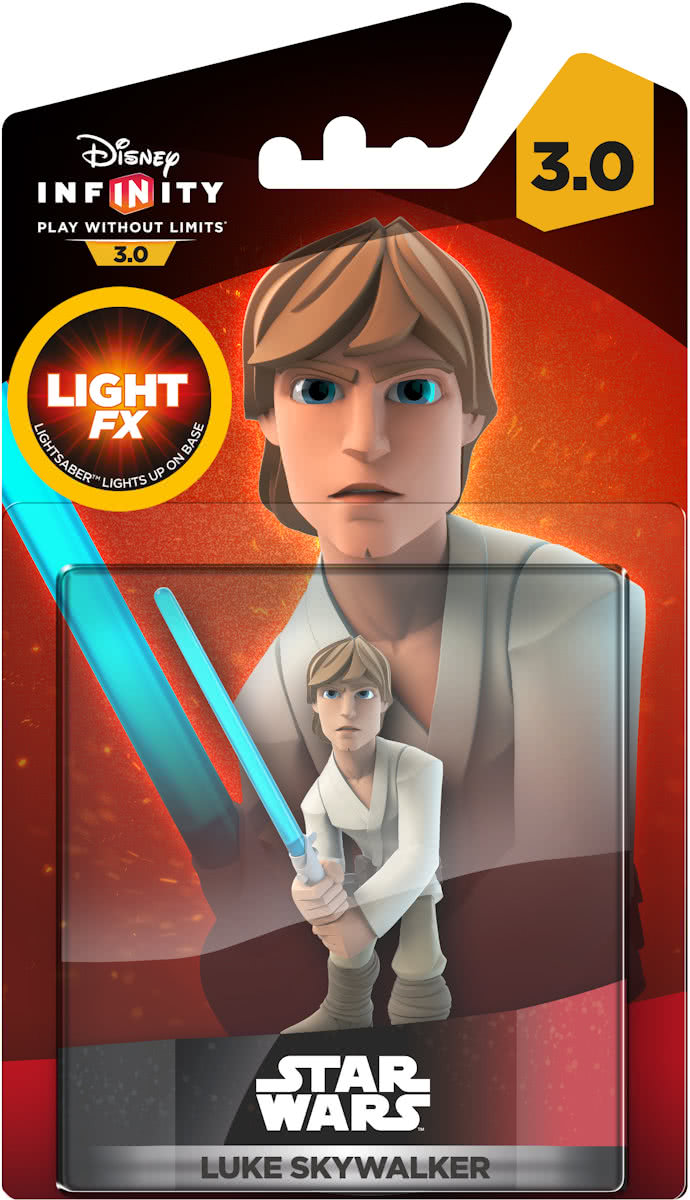 3.0 Star Wars -  Luke Skywalker Light Up