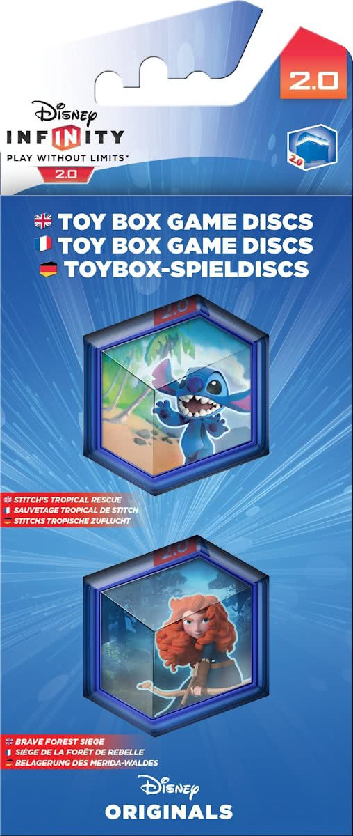 Disney Infinity 2.0 - Disney Toy Box Disc Pack (Wii U + PS4 + PS3 + XboxOne + Xbox360)