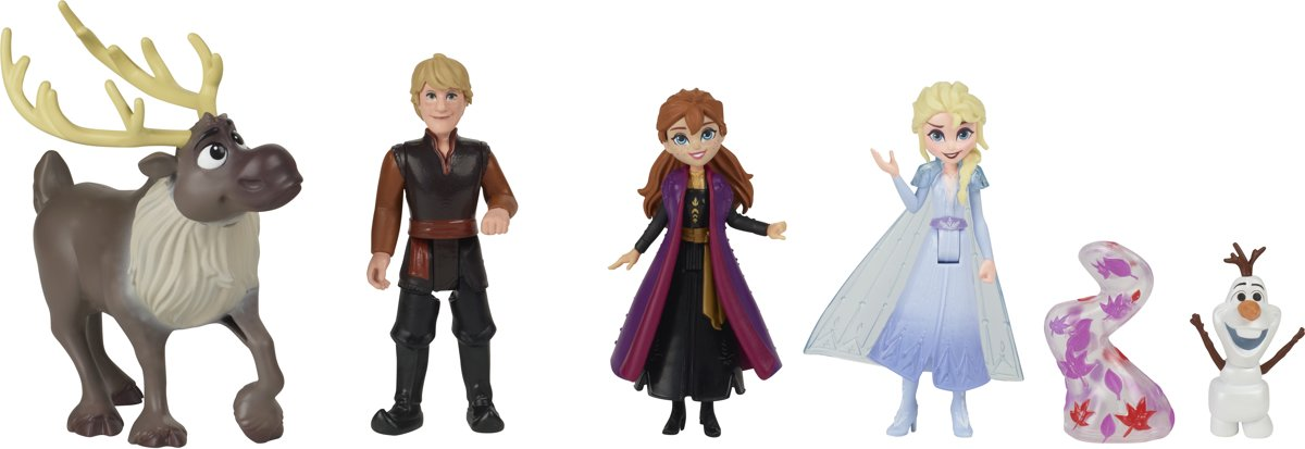 Frozen 2 Small Dolls Adventure Collection