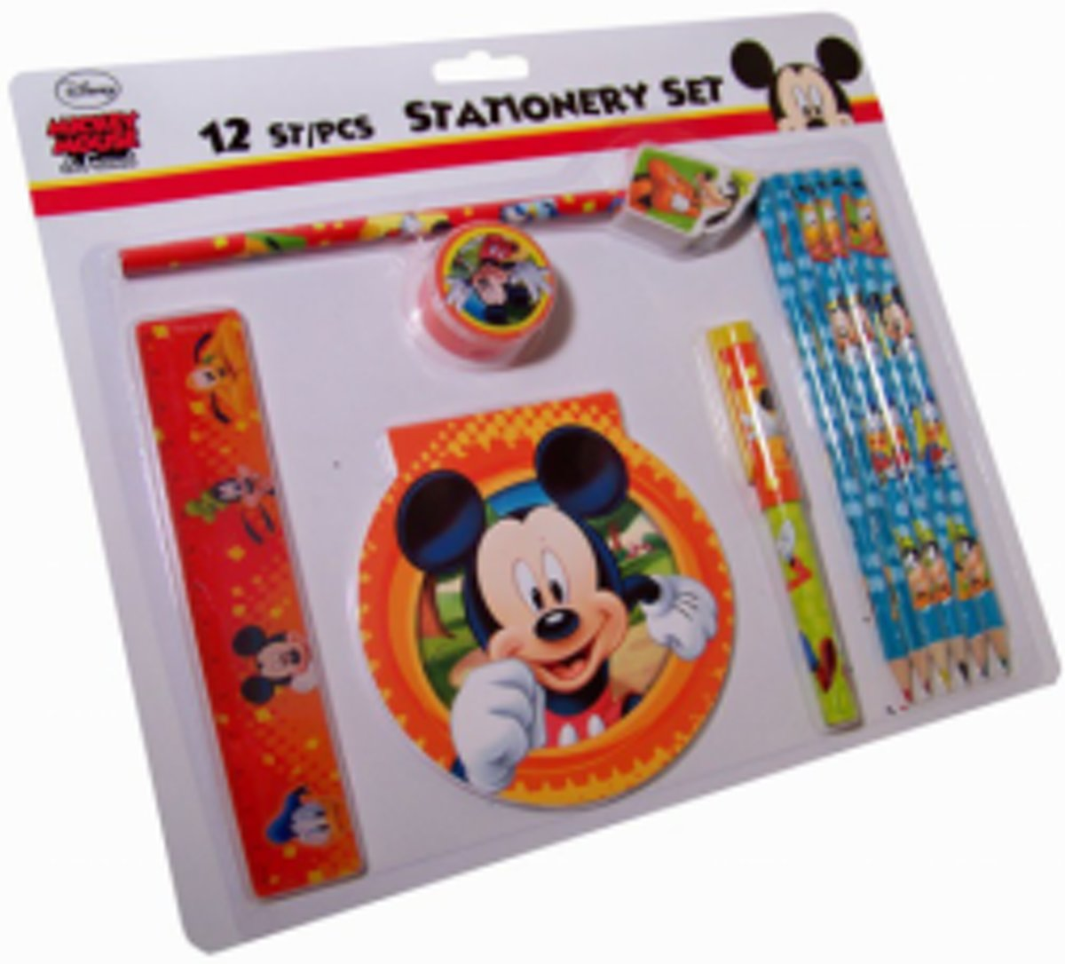 Disney 12 delige tekenset - Mickey Mouse