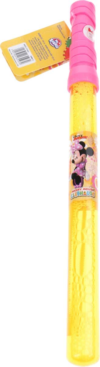 Disney Bellenblaaszwaard Minnie Mouse 120 Ml Roze/geel