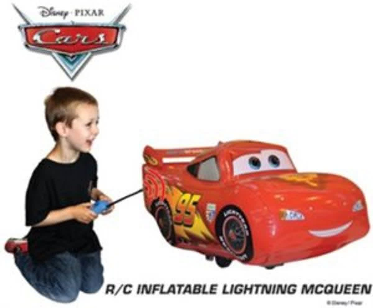 Cars Inflatable Radio Controlled Lightning McQueen