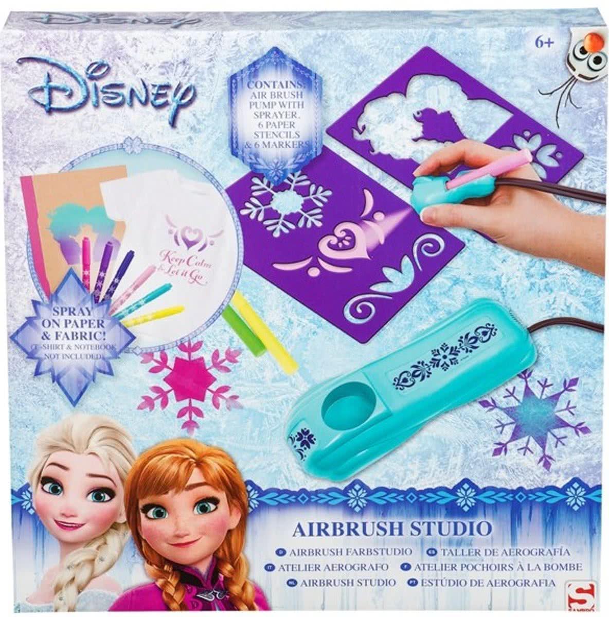 Disney Frozen Verfspuit Studio Electronische Airbrush Station