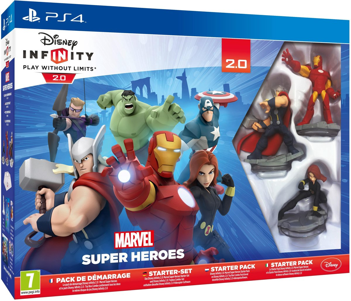 Infinity 2.0 Marvel Super Heroes Starter Pack - PS4