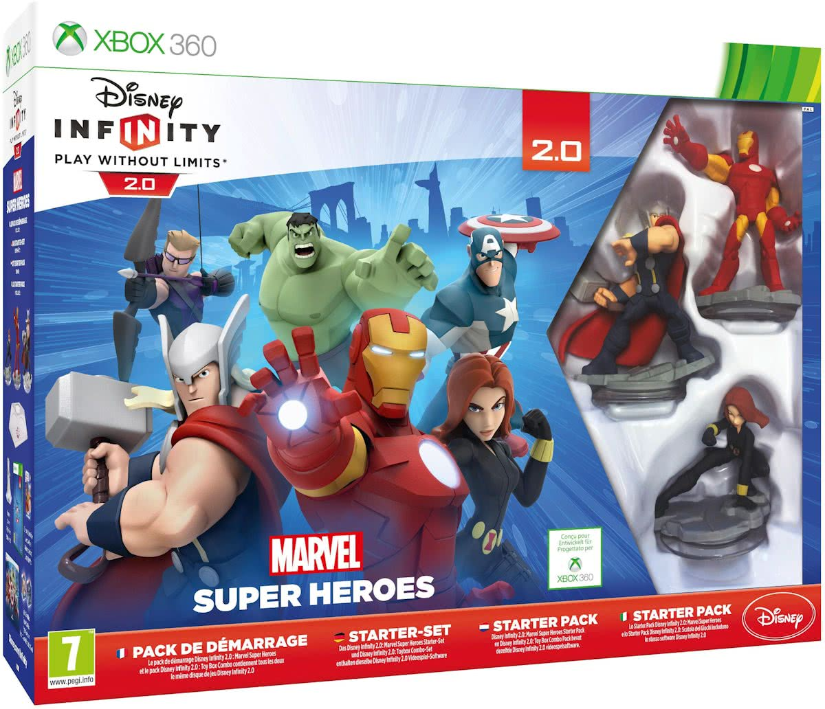 Infinity 2.0 Marvel Super Heroes Starter Pack - Xbox 360