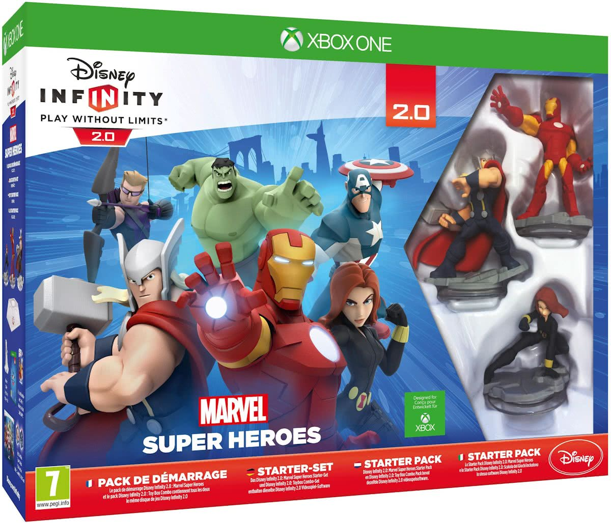 Infinity 2.0 Marvel Super Heroes Starter Pack - Xbox One