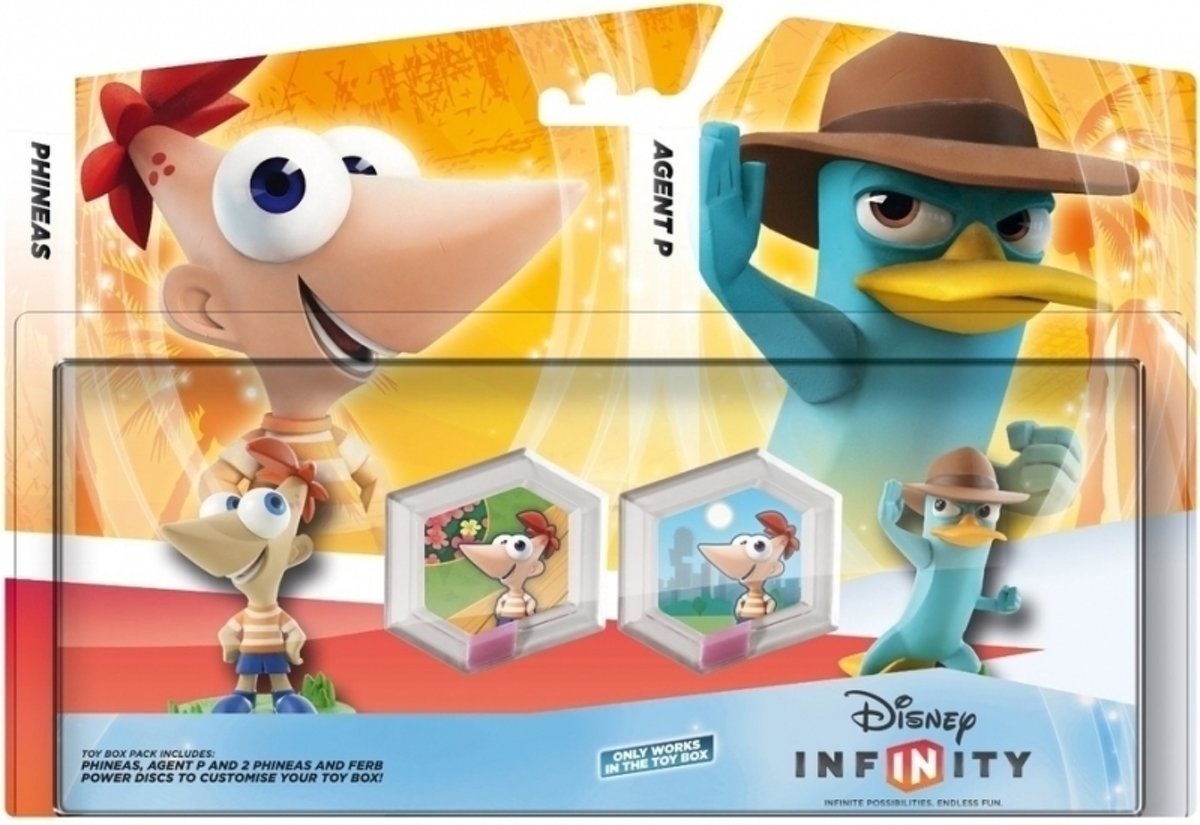 Infinity Phineas and Ferb Playset Pack