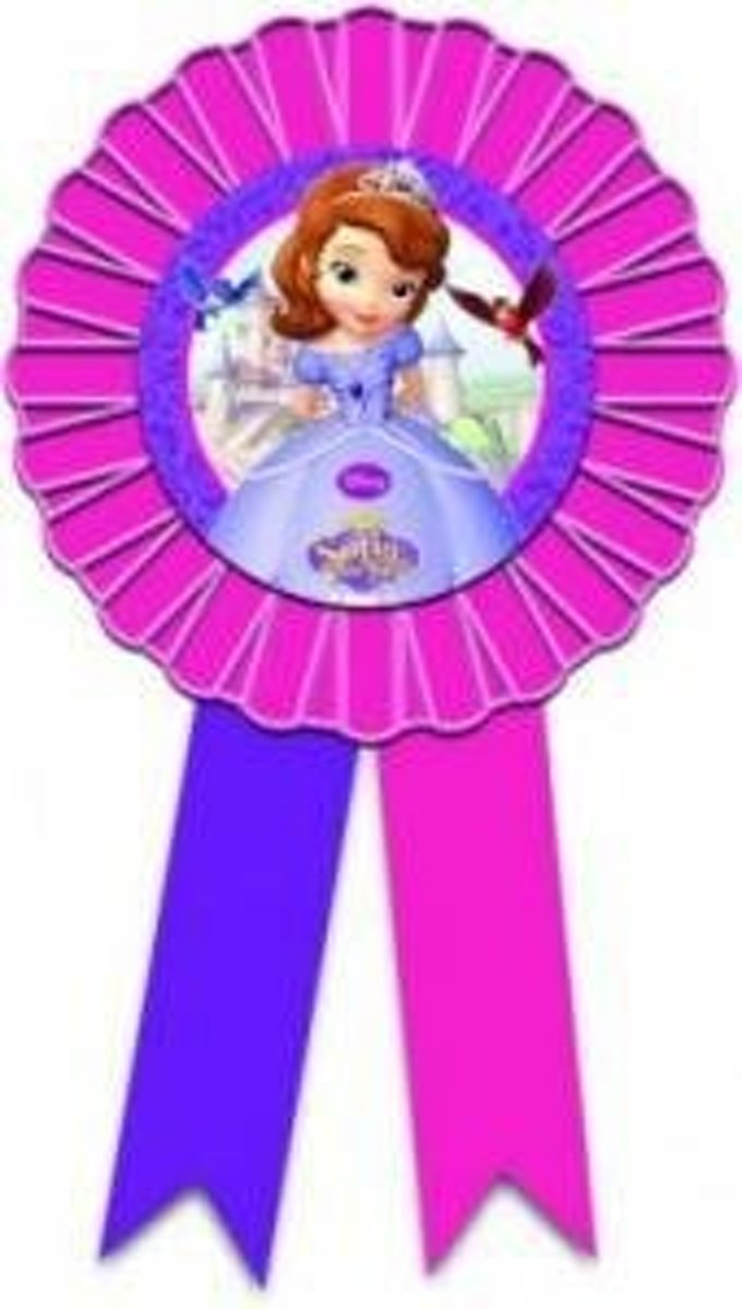 Disney Sofia the First verjaardag rozet