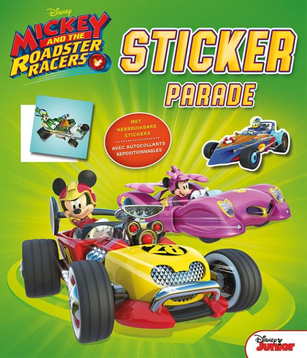 Sticker Parade Mickey and the Roadster Racers