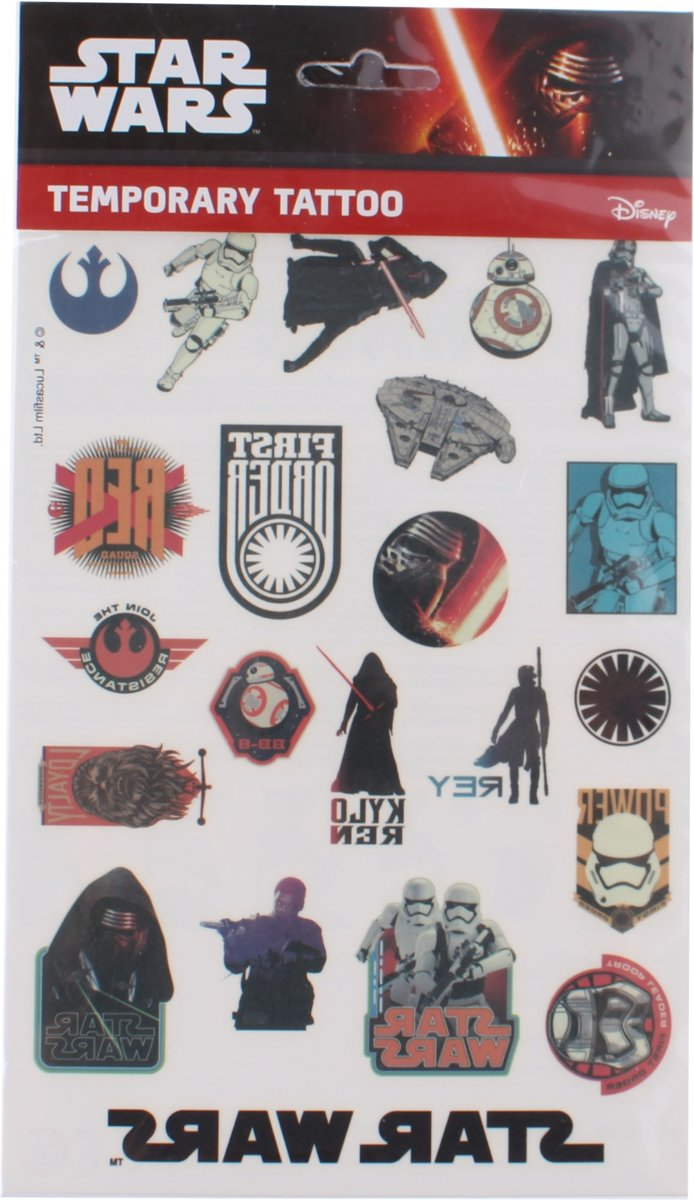 Disney Tattoo Star Wars Darth Vader 14,5 X 21 Cm