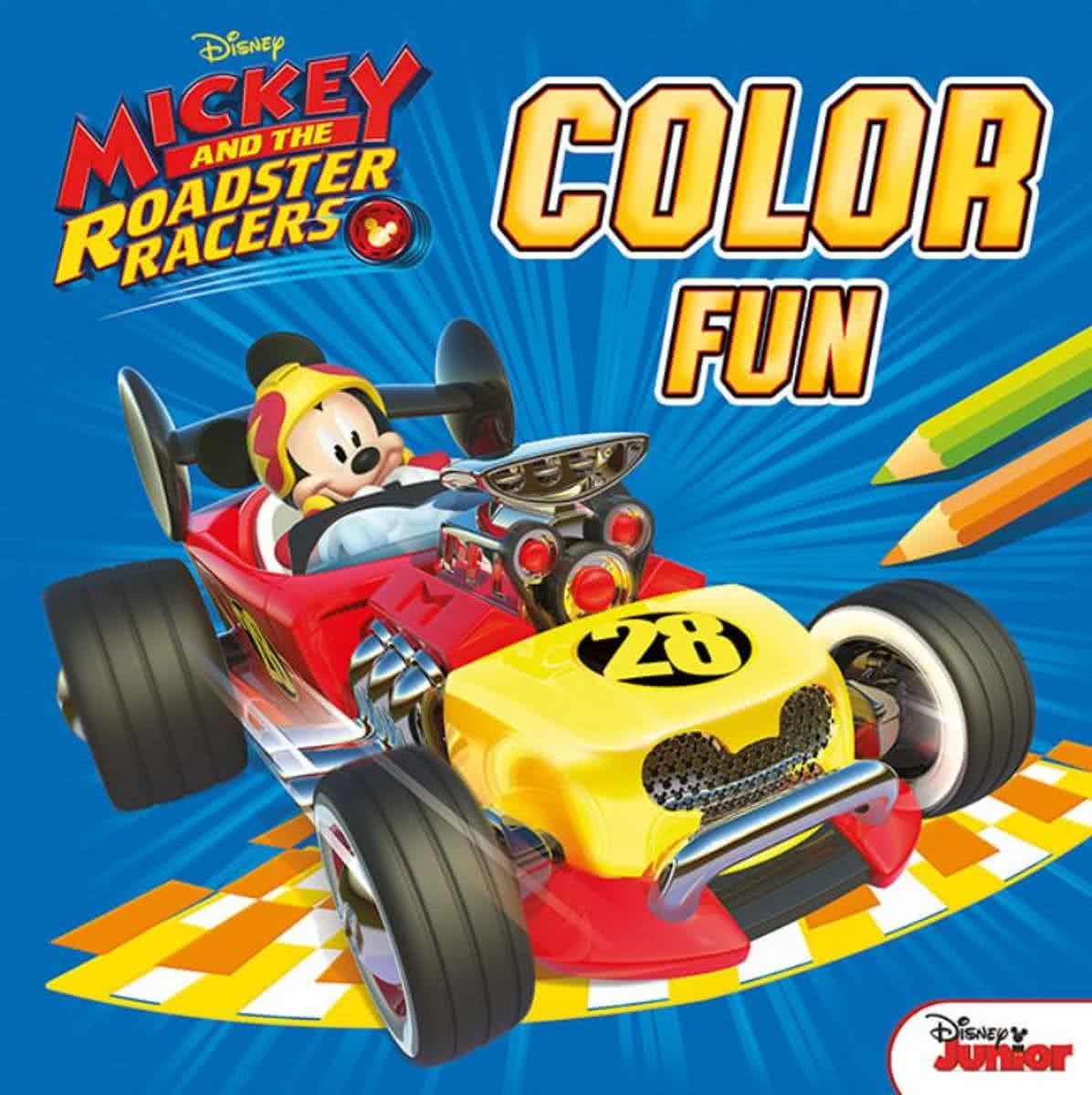 color fun Mickey and the roadster racers