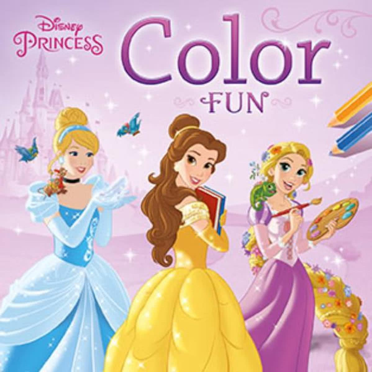 color fun princess