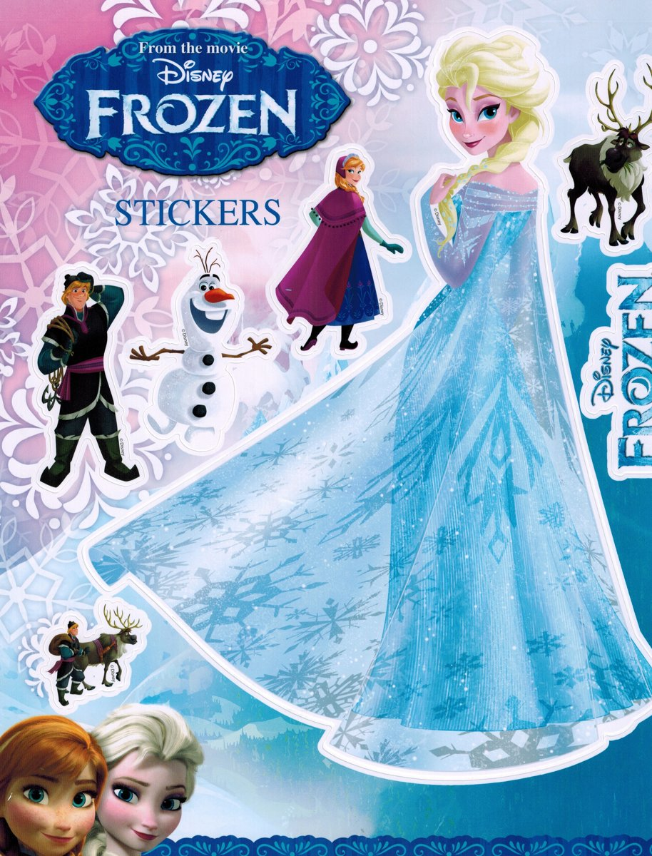 Groot stickervel Frozen