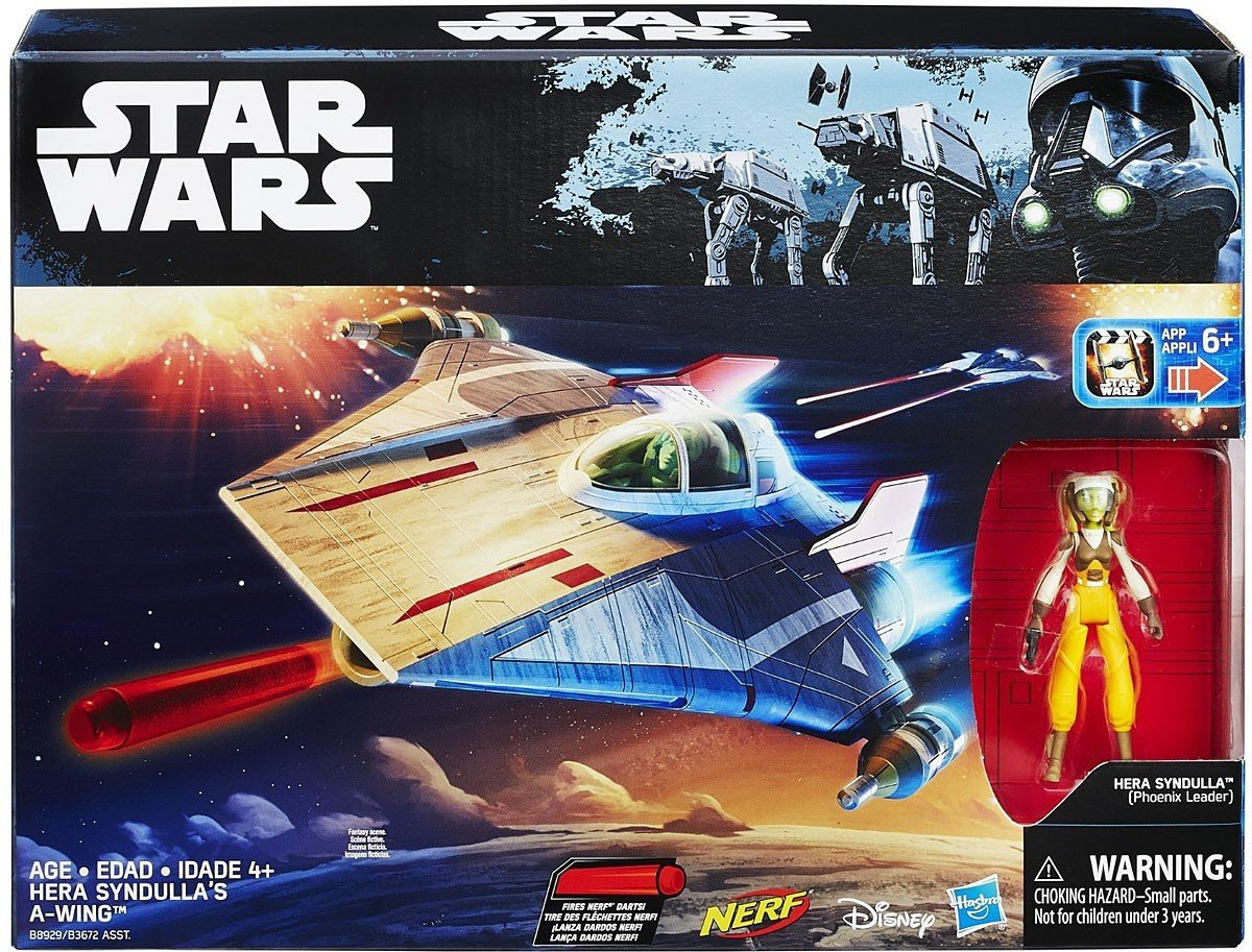 Hasbro Star Wars Hera Syndullas A-Wing - met app-Disney 6+