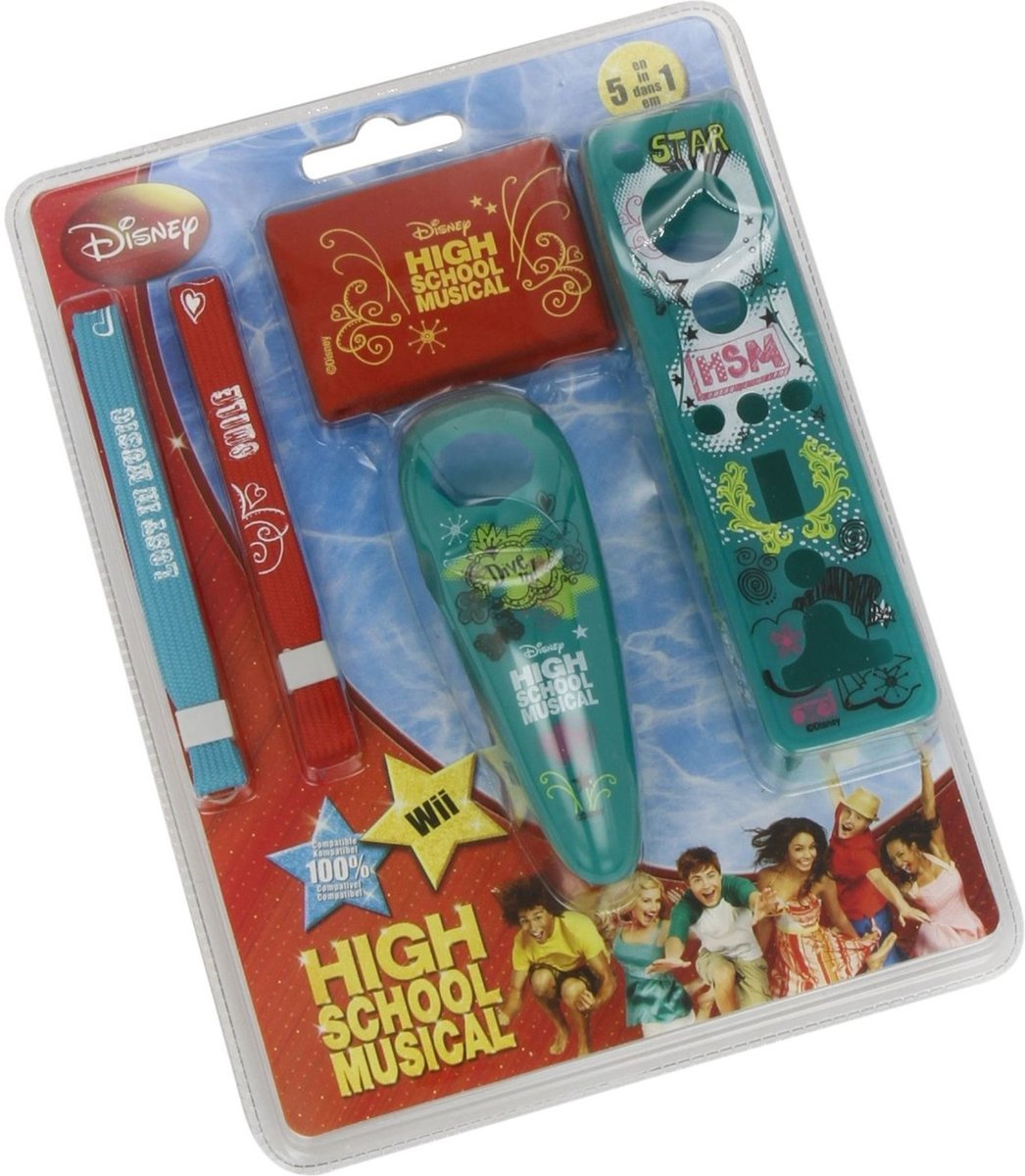 High School Musical Wii Remote Kit