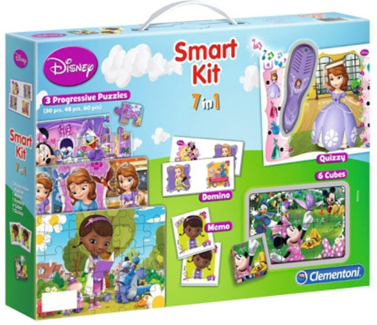 Puzzels Disney - Smart kit 7 in 1