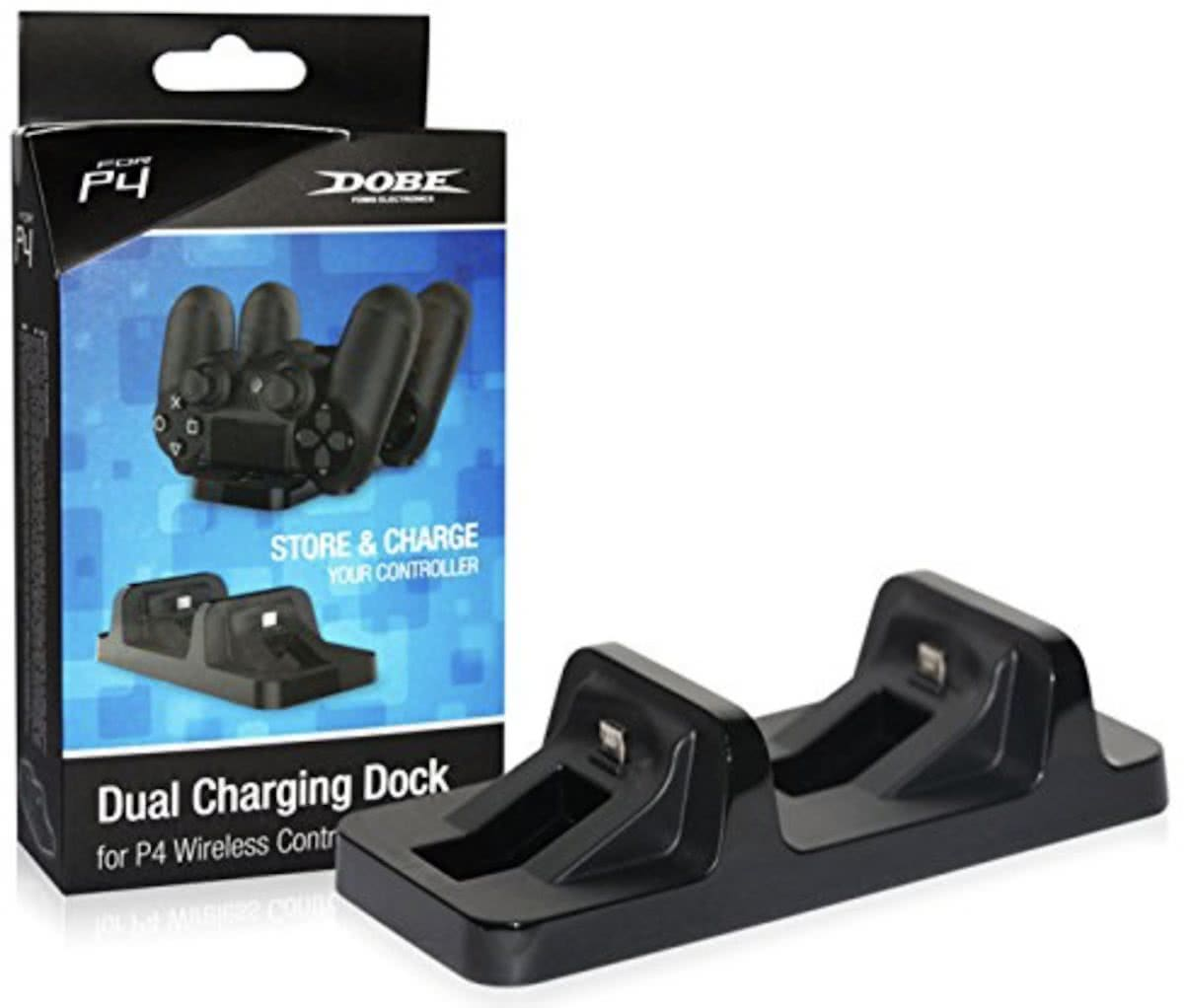 Dual Charging Dock voor PS4 – Playstation 4 Controller Oplader